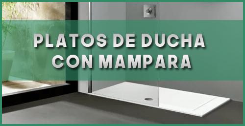 Platos de ducha con mampara